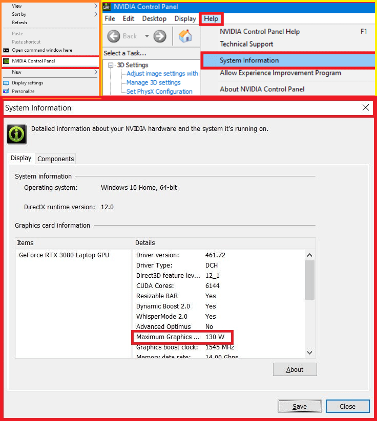 how to open nvdia control panel